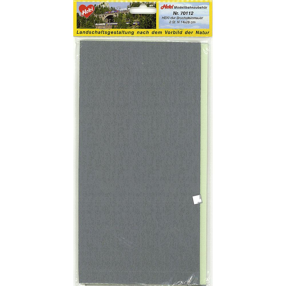 石垣シート Nサイズ :ヘキ 塗装済素材 N(1/160) 70112