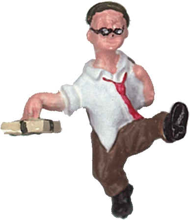 さかつう人形シリーズまなべコレクション ヨッパライ :さかつう 塗装済完成品 HO(1/87) 7501