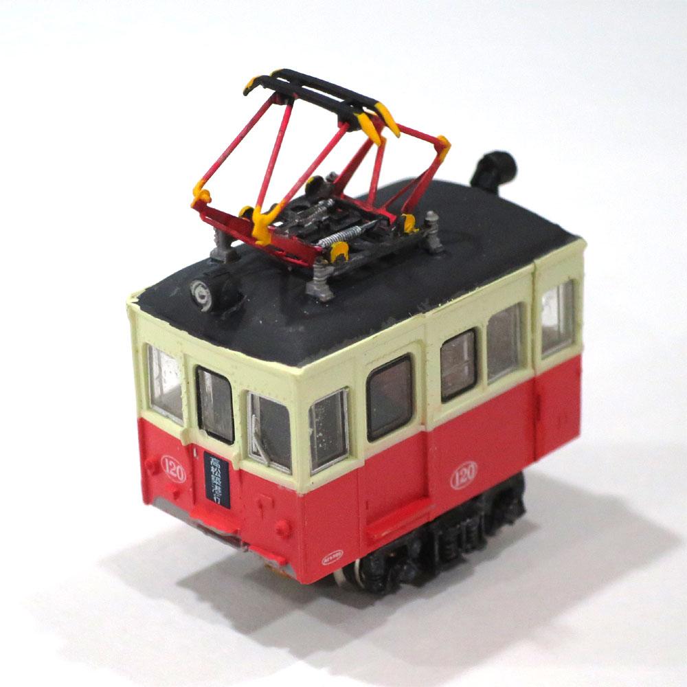 電池内蔵自走式 ミニミニトレイン <琴電> :石川宜明 塗装済完成品 N(1/150)