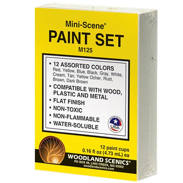ペイントセット ミニシーン(MINI-SCENE)シリーズ用 :ウッドランド 塗料 M125