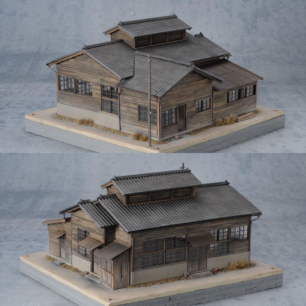 肥薩線人吉駅 作業場 :岡倉禎志 塗装済完成品 1/80