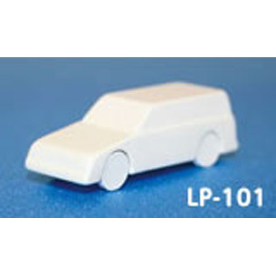 レイアウトパーツ ライトバン :光栄堂 未塗装キット 1/100  LP-101A