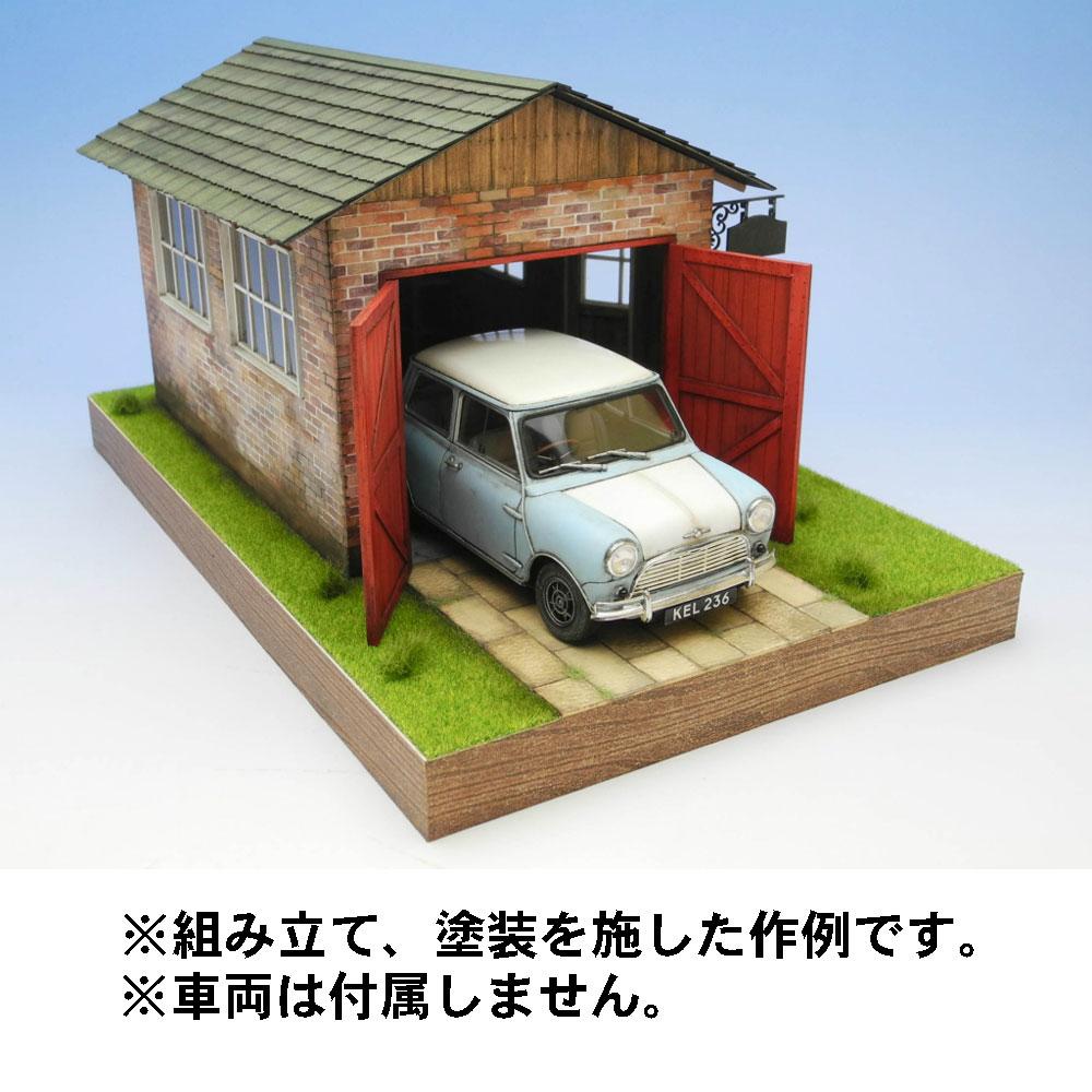 カントリーガレージ・スモールタイプ :コバーニ 未塗装キット 1/24 ss-026