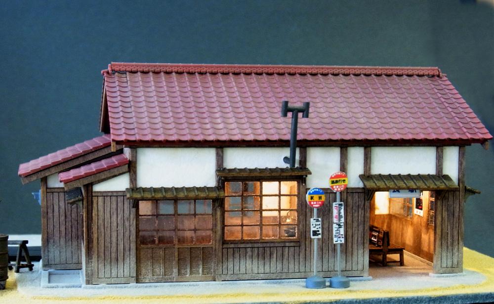 長駅 :伊藤敏男 塗装済完成品 1/87