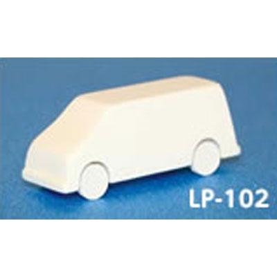 レイアウトパーツ ミニバン :光栄堂 未塗装キット 1/100  LP-102A