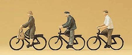 自転車に乗る人たち :プライザー 塗装済完成品 N(1/160) 79087