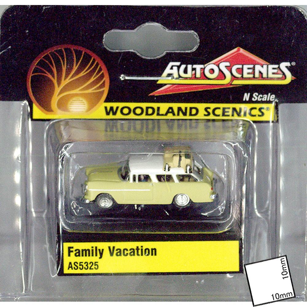ファミリー・バケーション(家族旅行)ステーションワゴン :ウッドランド 塗装済完成品 N(1/160) AS5325