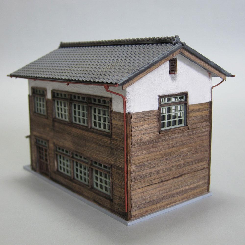 二階建て乗務員詰所 :匠ジオラマ工芸舎 塗装済完成品 1/80