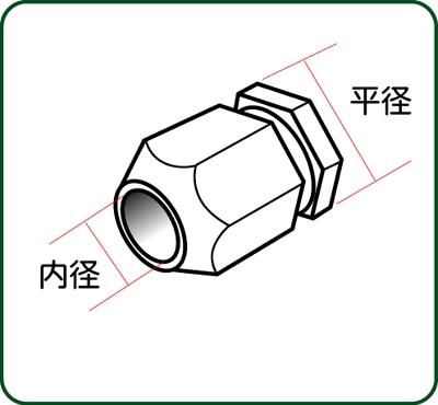 六角管継手 ダブル 平径1.2mm テーパー付 :さかつう ディテールアップ ノンスケール 4462