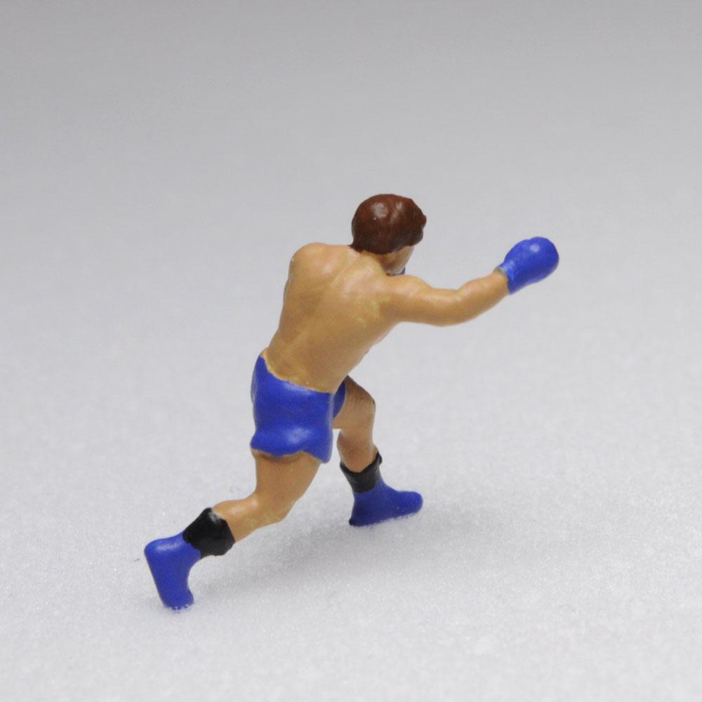 アスリート人形 ボクシング ストレートA :さかつう 3Dプリント 完成品 HO(1/87) 218