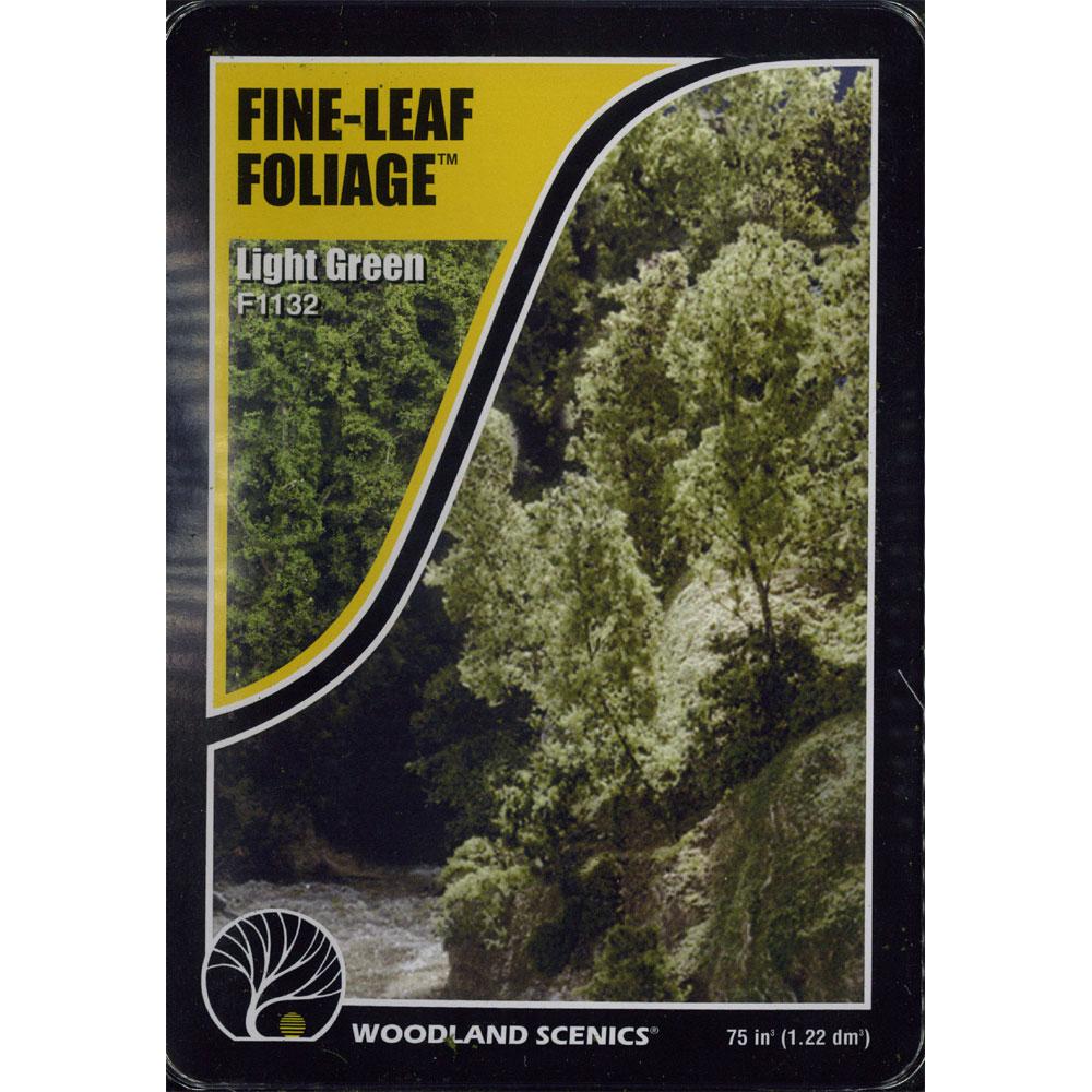 樹木素材セット 薄緑色の木 :ウッドランド 素材 ノンスケール F1132