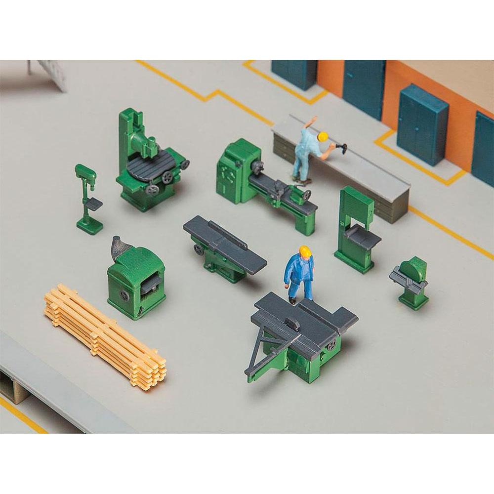 作業場の工作機械 :ファーラー 未塗装キット HO(1/87) 180455