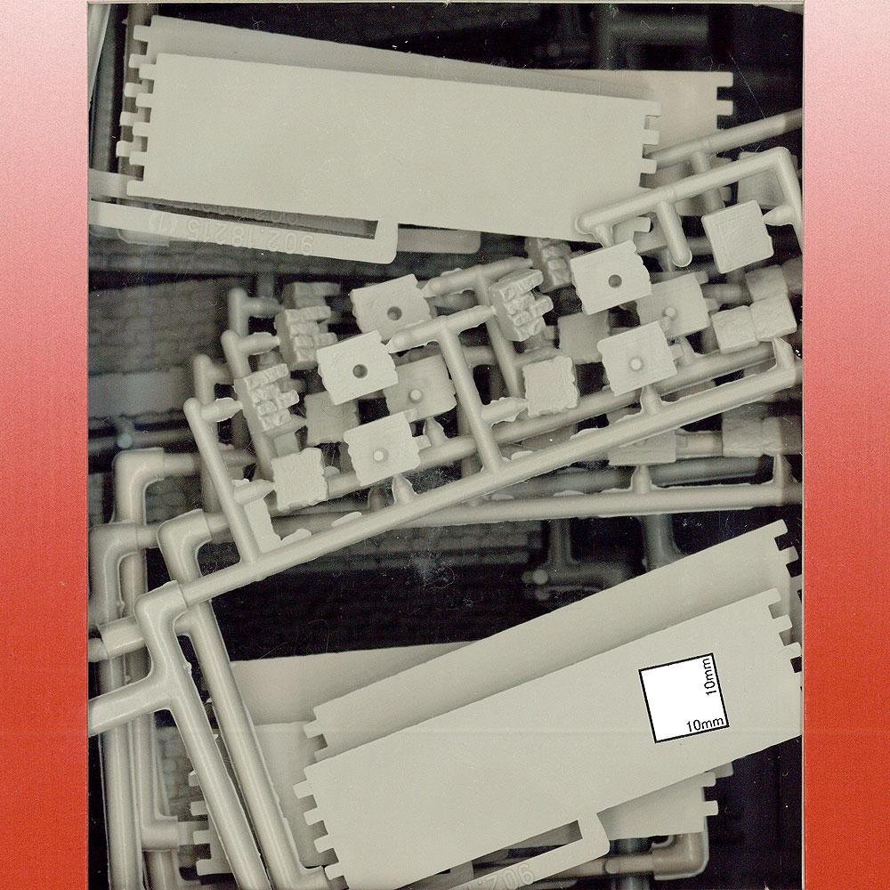 石垣と舗道 :プライザー 未塗装キット HO(1/87) 18215