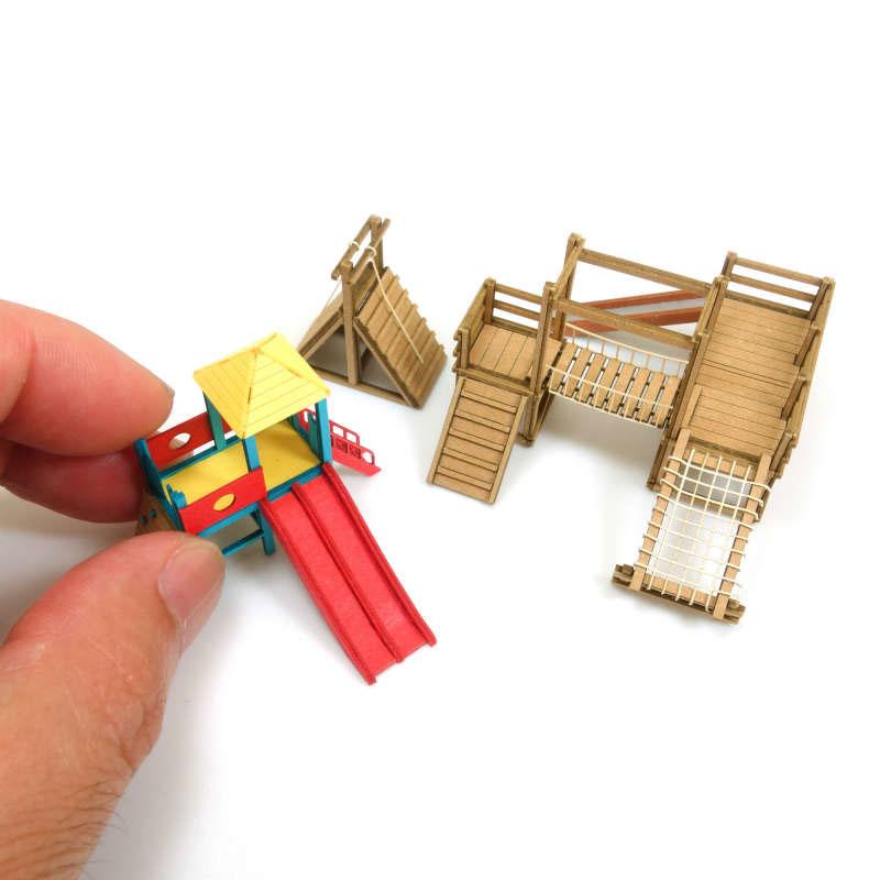 アスレチック遊具 :さんけい キット N(1/150) MP03-111