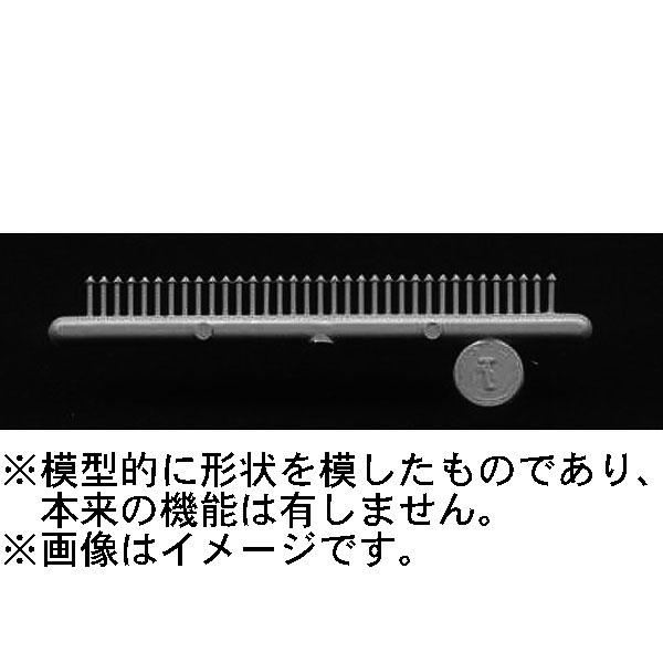 四角ナット・ボルト・ワッシャー ワッシャー有と無し 平角0.7mm  :グラントライン 未塗装キット O(1/48) 0008