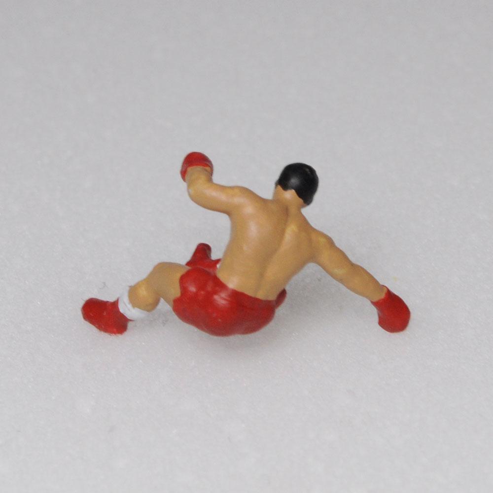 アスリート人形 ボクシング ダウンA :さかつう 3Dプリント 完成品 HO(1/87) 220