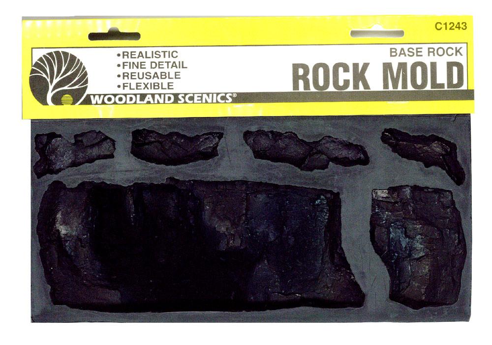 ロックモールド(岩の型) 積層 :ウッドランド 素材 ノンスケール C1243