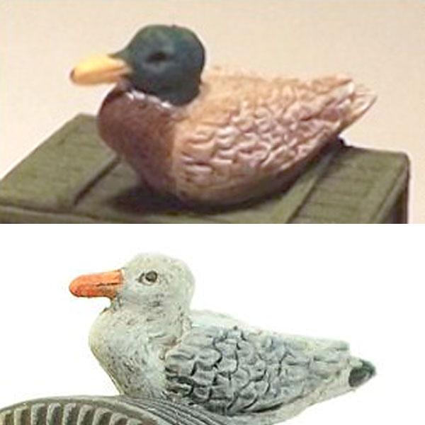 水鳥セット :リアリティインスケール/フレデリクス 未塗装キット 1/35 35211