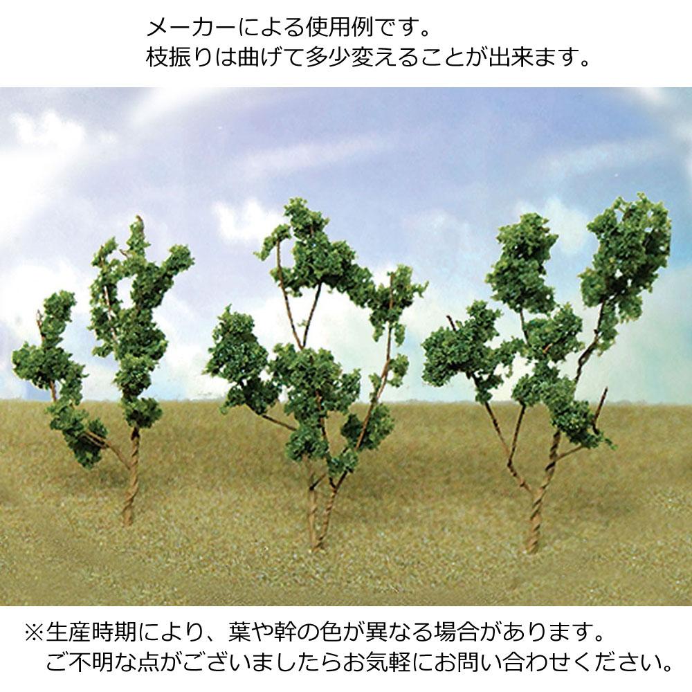新緑樹(薄緑) 3〜5cm 60本以上 :JTT 完成品 ノンスケール 95519