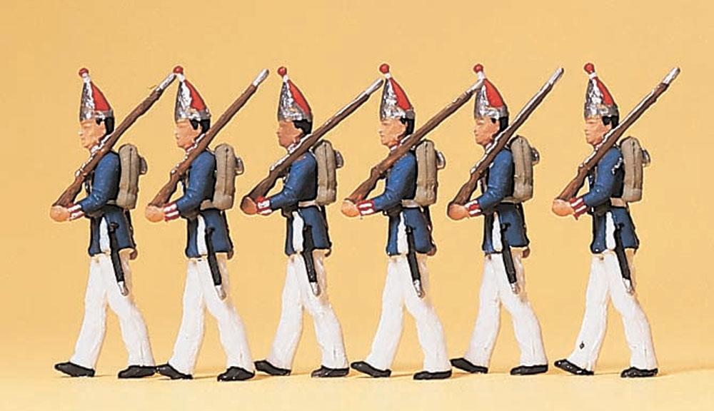 1894年の第一近衛歩兵連隊(グレナディアガーズ) :プライザー 塗装済完成品 HO(1/87) 12189