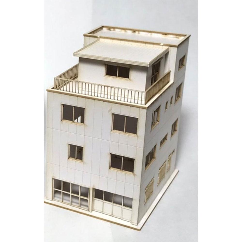 【模型】 下町のビルA :IORI工房 未塗装キット N(1/150) 248