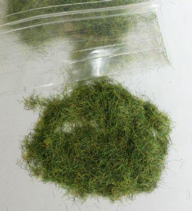 繊維系素材 濃い緑の草(6mm高さ)  :ジョーフィクス 素材 134