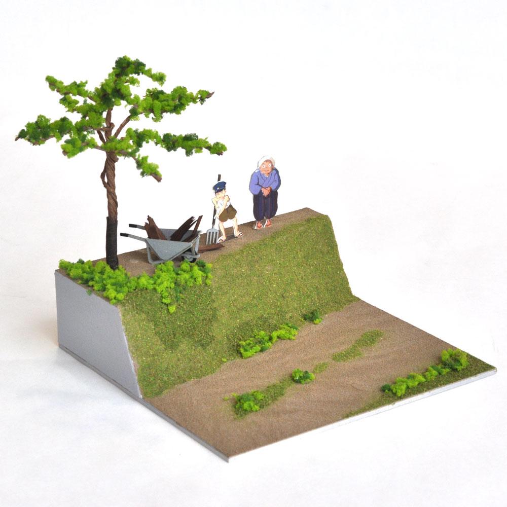 草壁家の引越し となりのトトロ :伊藤敏男 完成品 O(1/48)