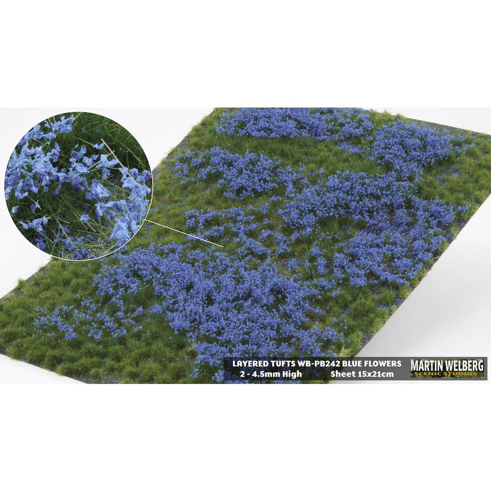 剥離タイプ(フレーク付き ブルー)  全高4.5mm :マーティンウェルバーグ ノンスケール WB-PB242