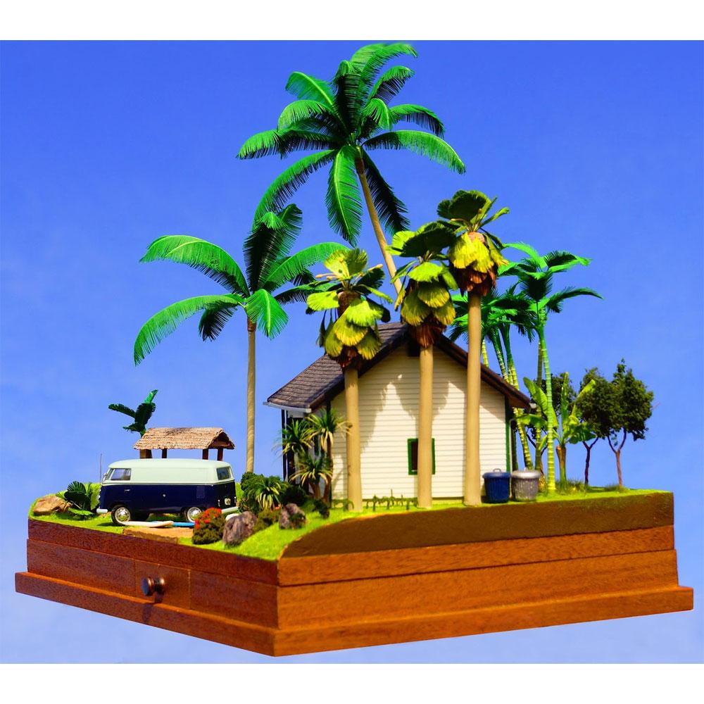 「ヴィラ-常夏の海辺-」 ミニカー付き :グリーンアート 完成品 1/43 3002