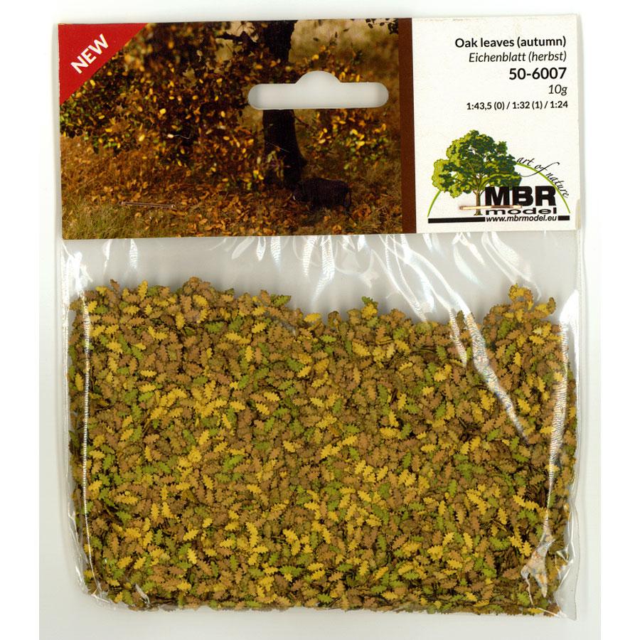 パウダー系素材 オークの葉(秋色) :MBR 素材 ノンスケール 50-6007