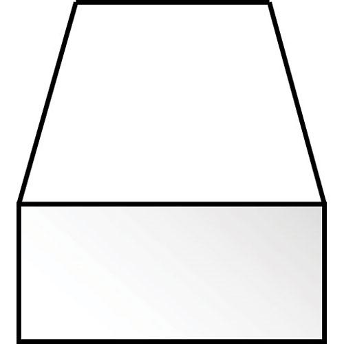 角棒 0.5 x 3.2 x 350 mm :エバーグリーン プラ材 ノンスケール 126