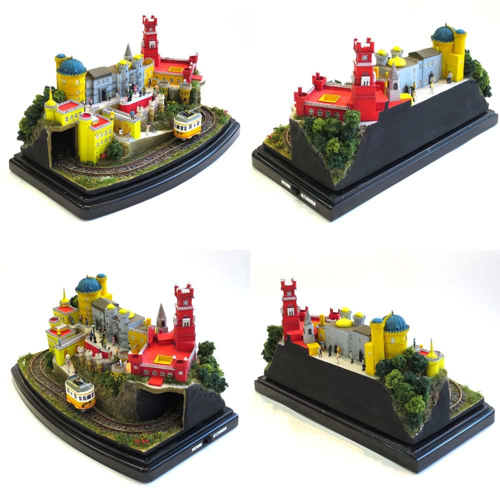 キャッスルライン3 ペーナ宮殿 :石川宜明 塗装済完成品 1/150サイズ