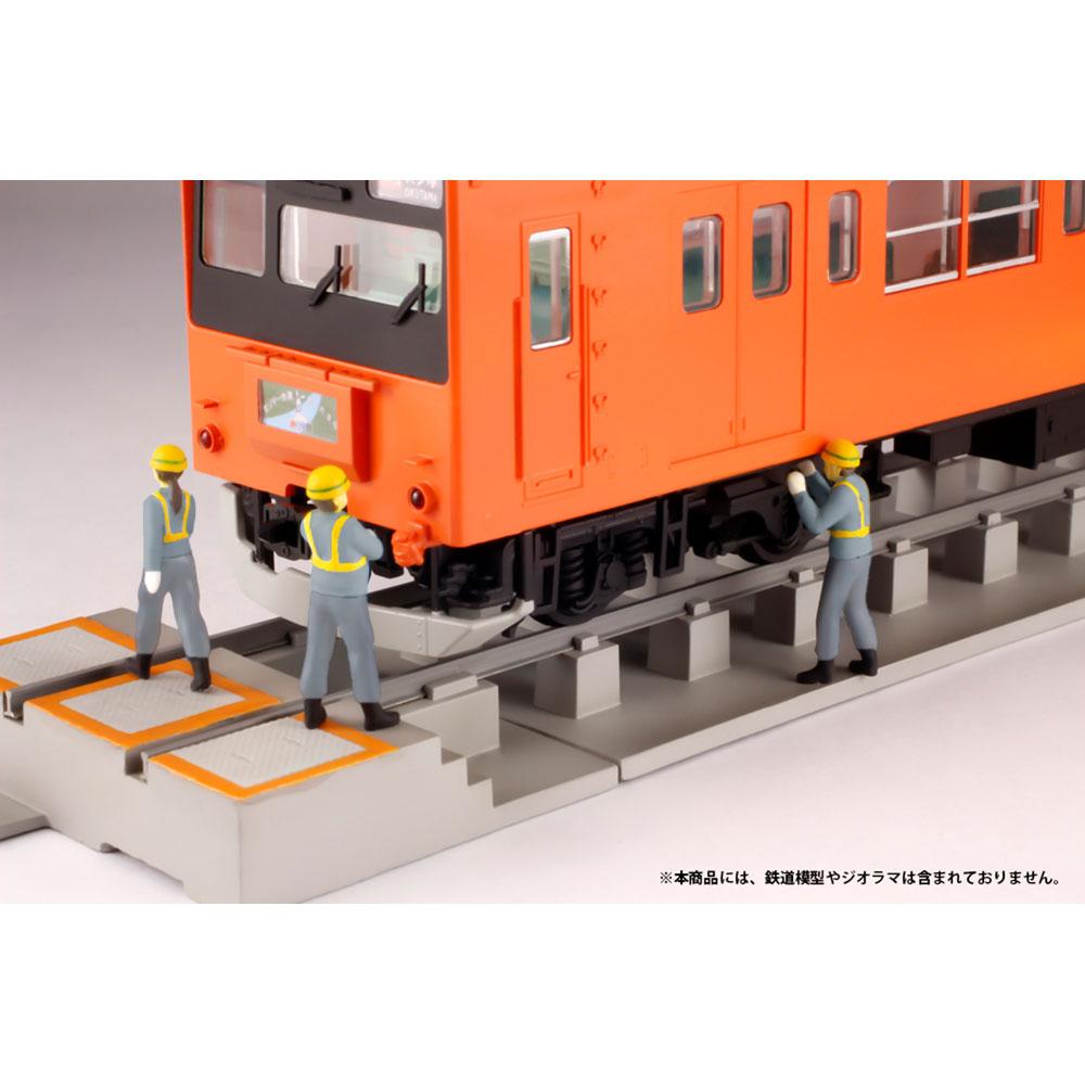 超ミニフィギュア10 エキスパートな鉄道員セット2 :PLUM 塗装済完成品 HO(1/80) MS049
