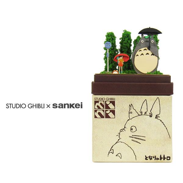 スタジオジブリmini となりのトトロ 【トトロとバス停】 :さんけい キット ノンスケール MP07-03