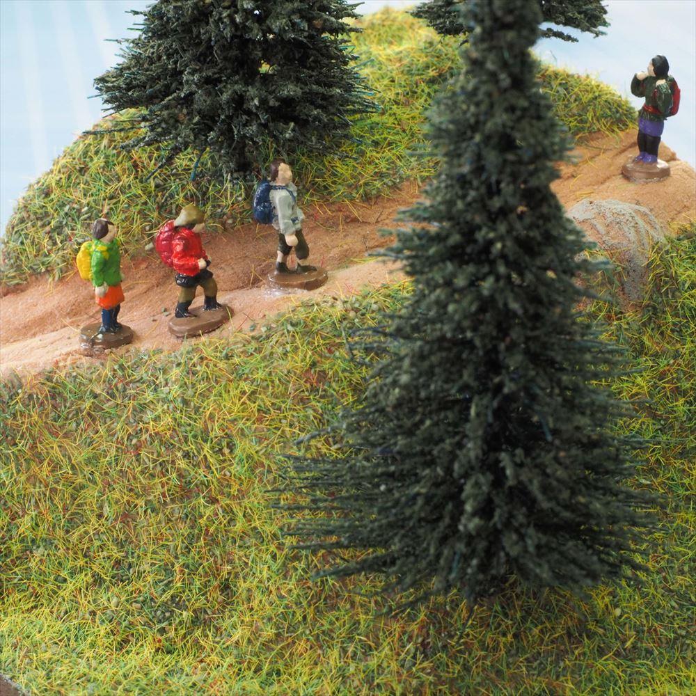 手のひらジオラマ ハイキング :さかつうギャラリー 初心者向け製作キット 入門用 9004