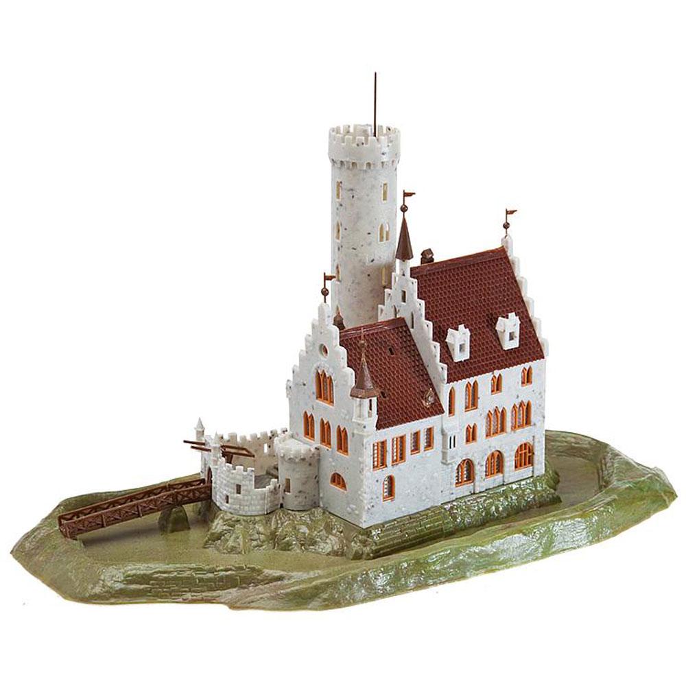 お堀に囲まれた城 :ファーラー 未塗装キット N(1/150) 232242