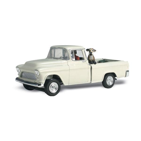 ホール&デューク (犬を乗せたピックアップトラック) :ウッドランド 塗装済完成品 N(1/160) AS5321
