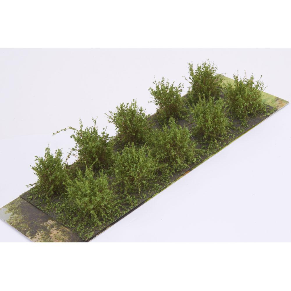 茂みA 株タイプ 全高20mm ミディアムグリーン 10株 :マーティンウェルバーグ ノンスケール WB-SAMG