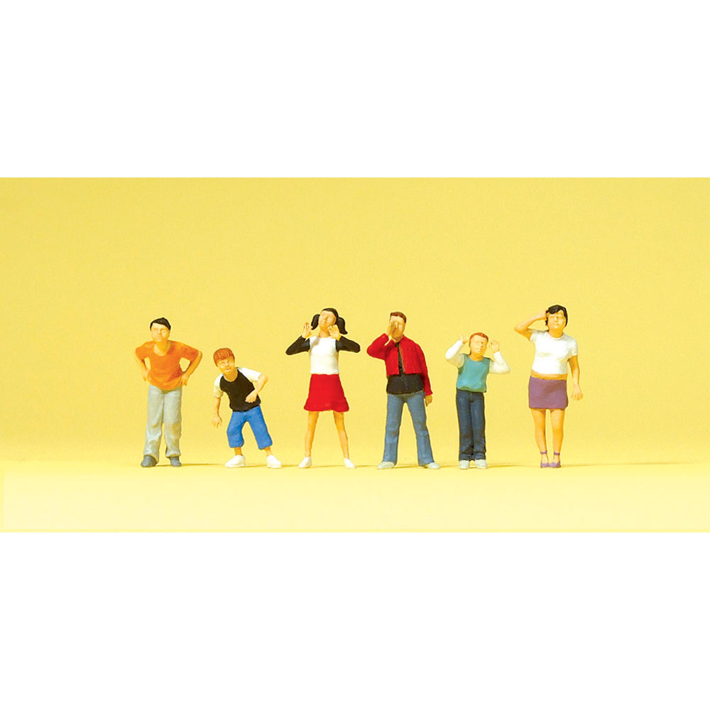 子供たち :プライザー 塗装済完成品 HO(1/87) 10556