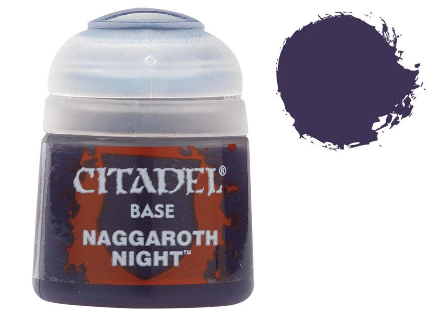 シタデル・ベースコート Naggaroth Night(ナーガロス・ナイト) :ゲームズワークショップ つや消し塗料 21-05