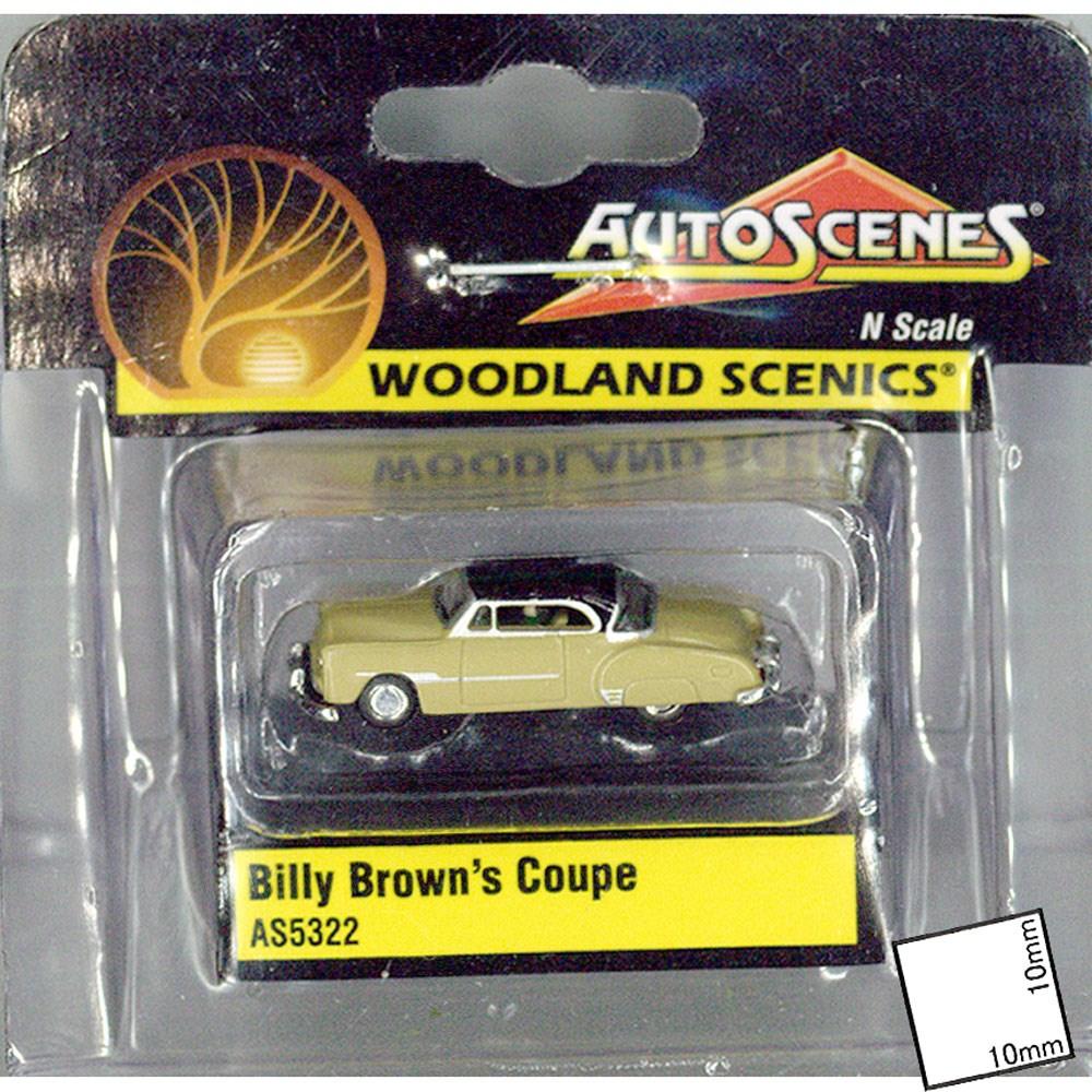 ビリー ・ ブラウンのクーペ  :ウッドランド 塗装済完成品 N(1/160) AS5322
