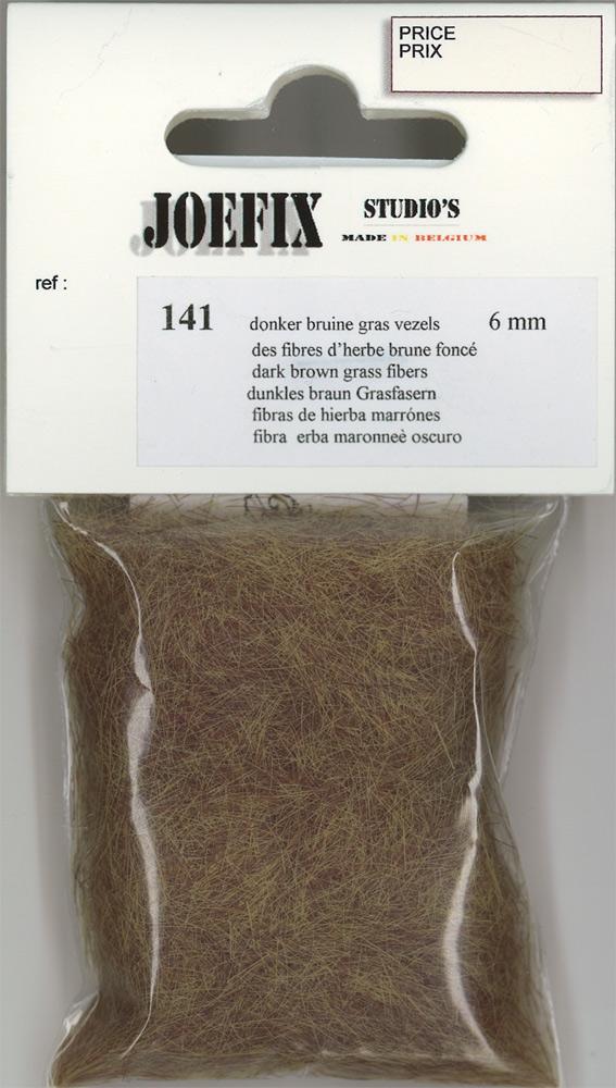 繊維系素材 ダークブラウンの草(6mm高さ) :ジョーフィクス 素材 ノンスケール 141