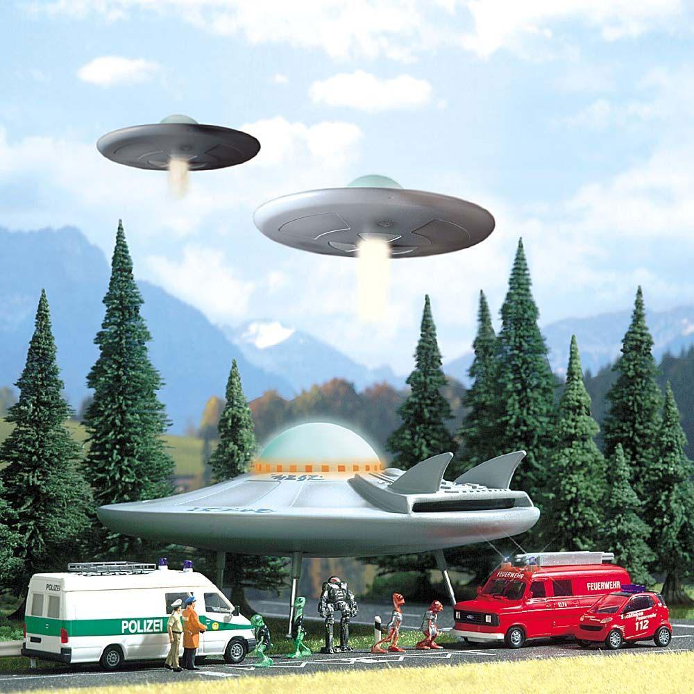 UFOフライング・ソーサーキット :ブッシュ キット HO(1/87) 1010