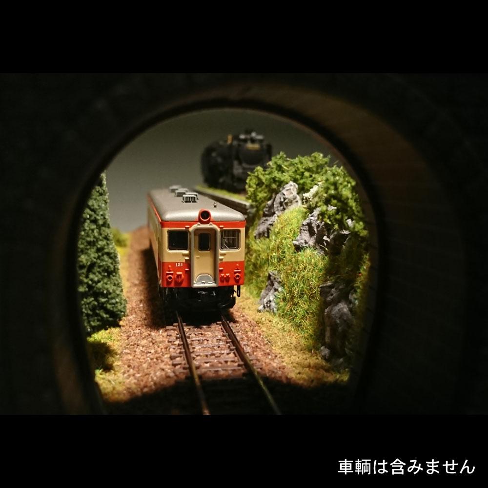 牧場と引き上げ線 :伊渕康次 塗装済完成品 N(1/150)
