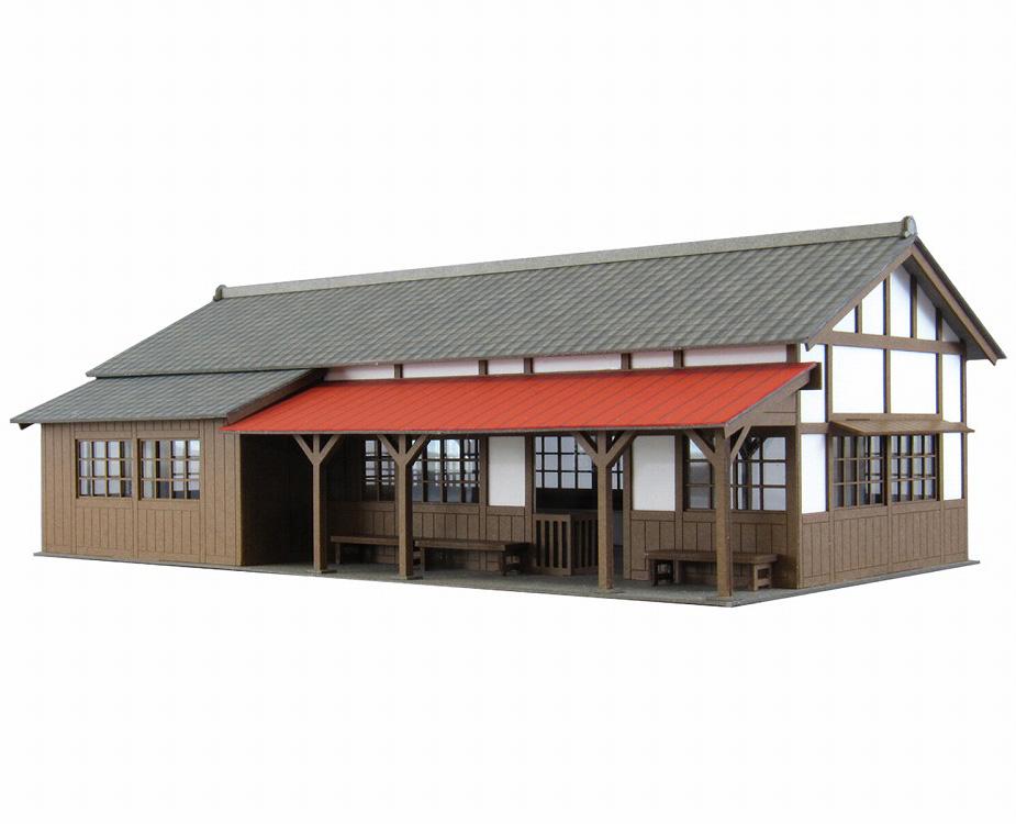 駅舎-4 :さんけい キット HO(1/87) MK05-27