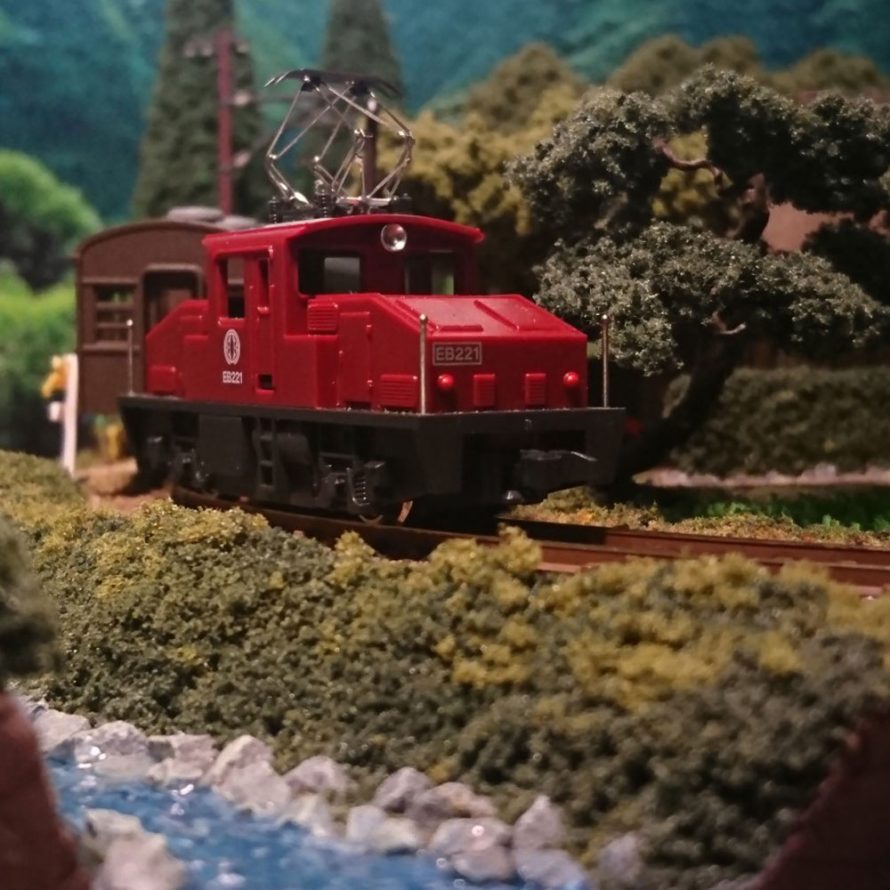 わらぶき農家とローカル鉄道 :伊渕康次 塗装済完成品 N(1/150)