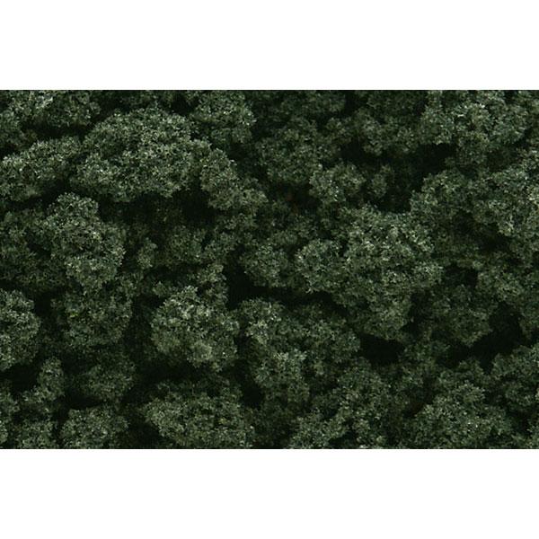 スポンジ系素材 【ブッシュ】 フォレスト・グリーン(黒緑) :ウッドランド 素材 ノンスケール FC148