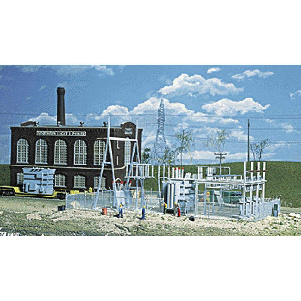 変電設備 :ウォルサーズ 未塗装キット HO(1/87) 3025