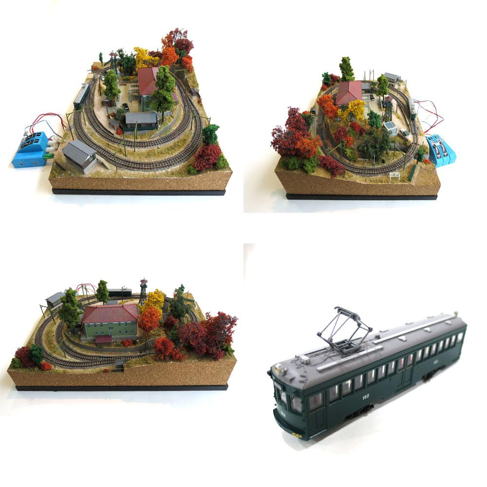 火の見櫓のあるNゲージパイク パワーパックつき :池田邦彦 塗装済完成品 N(1/150)