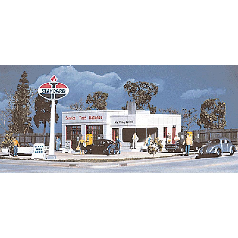 オールズビクトリーサービス ガスステーション :ウォルサーズ 未塗装キット HO(1/87) 3072